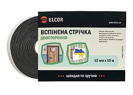 Двусторонняя Вспененная лента ELCOR TREVA1210 12мм * 10м черная