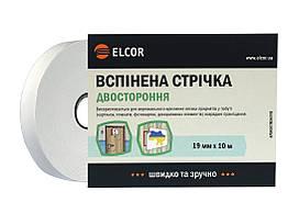 Двусторонняя Вспененная лента ELCOR TREVA1910 19мм * 10м белая