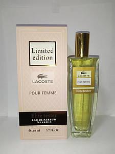 Elite Tester  Lacoste Pour Femme edt  LIMITED EDITION 110 мл
