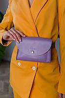Поясная сумка лилового цвета Udler, фото 1