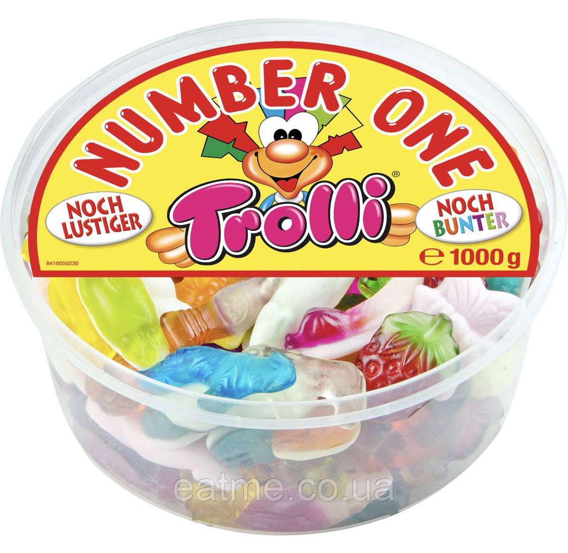 Trolli 1 kg Желейные Конфеты с фруктовыми вкусами