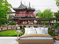 """Флизелиновые Фотообои """"Японские храмы (1002767)"""" от производителя за 1 день. Любая картинка и размер. ЭКО-обои"""