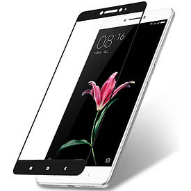 Защитное стекло AVG для Xiaomi Mi Max полноэкранное черное