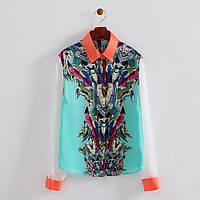 Красивая разноцветная блузка, фото 1