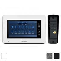 Комплект видеодомофона Slinex XS-07M + вызывная панель Slinex ML-16HR