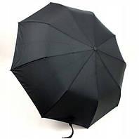 Мужской зонт складной Lantana LAN934 на 9 спиц полуавтомат черный