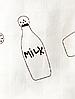Накидка для кормления + сумочка-чехол №4 Молоко, фото 6