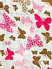 Накидка для кормления + сумочка-чехол №5 Бабочки, фото 3