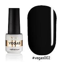 Гель-лак Vegas №002, 6 мл