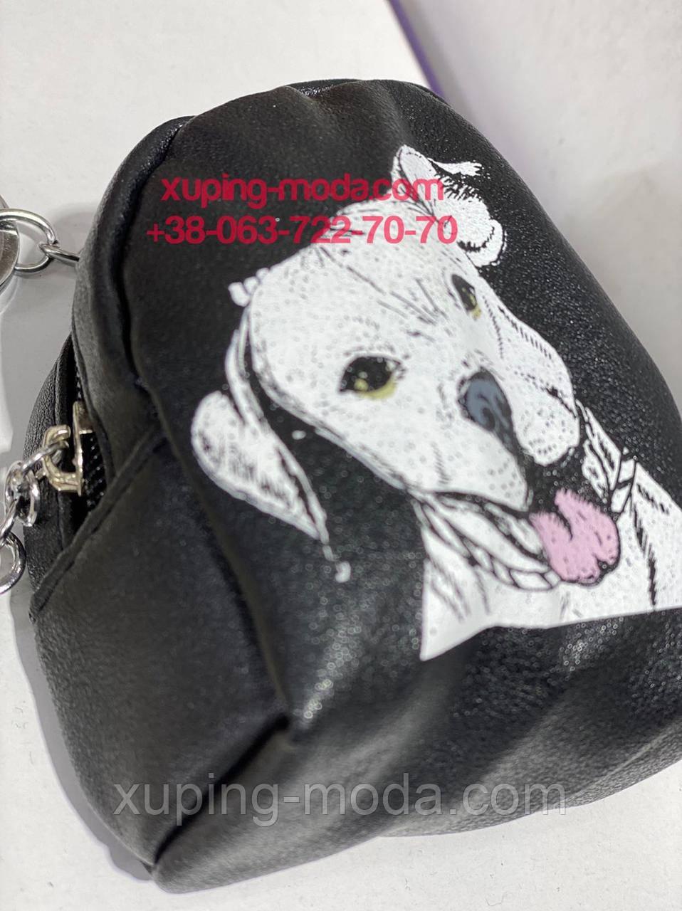 Брелок рюкзак с собачкой