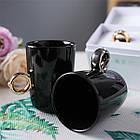 Чашка с золотым кольцом Invotis (2 цвета), фото 10