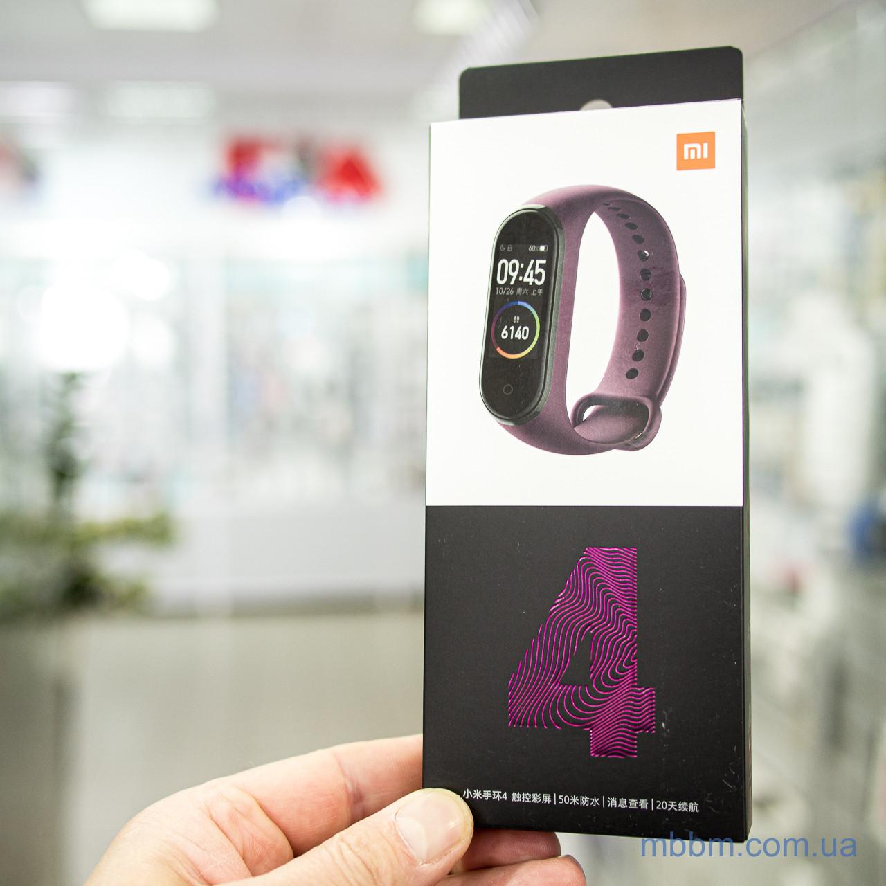 Фитнес-браслет Xiaomi Mi Band 4 [CN] red Оригинал! (MGW4050CN) EAN/UPC: 6934177710193