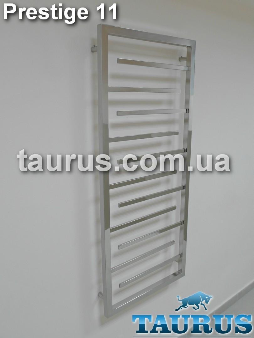Эксклюзивная сушилка для полотенец Prestige 11/ 1250х450 из полированной н/ж стали. TAURUS (Смела)