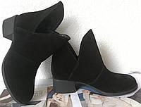 Jimmy Choo! женские демисезонные ботинки, маленький удобный каблук натуральный замш, фото 1