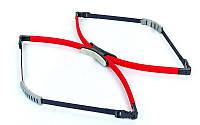 Эспандер многофункциональный Pro Supra AERO BOW FI-890-4_5mm (пластик, PL h-4,5мм, красный)