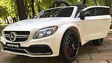 Детский электромобиль Bami M 4010EBLR-1  Mercedes С 63 AMG  белый