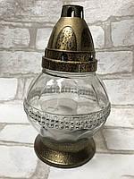 Лампадка-бочечка скляна. Виробник Польща. Вис 19 см 70/85 грн (ціна за 1 шт +15 грн)