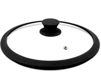Стеклянная крышка на кастрюлю | Крышка из стекла Benson BN-1000 28см