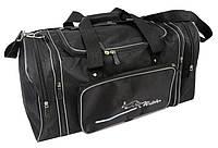 Дорожная сумка с расширением 40 л Wallaby 365-1 черная