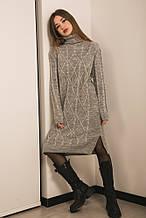Платье 101160 (св.серый)