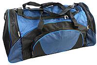 Дорожная сумка 70 L Loren St5 черная с синим