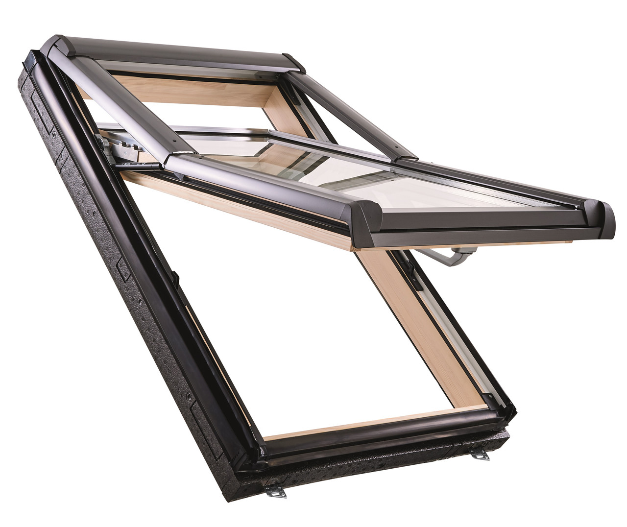 Мансардне вікно Roto Designo WDF R75 H WD AL Мансардное окно