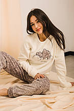 Пижама 16400 (молочный)