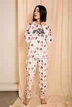 Пижама 24810 (молочный)