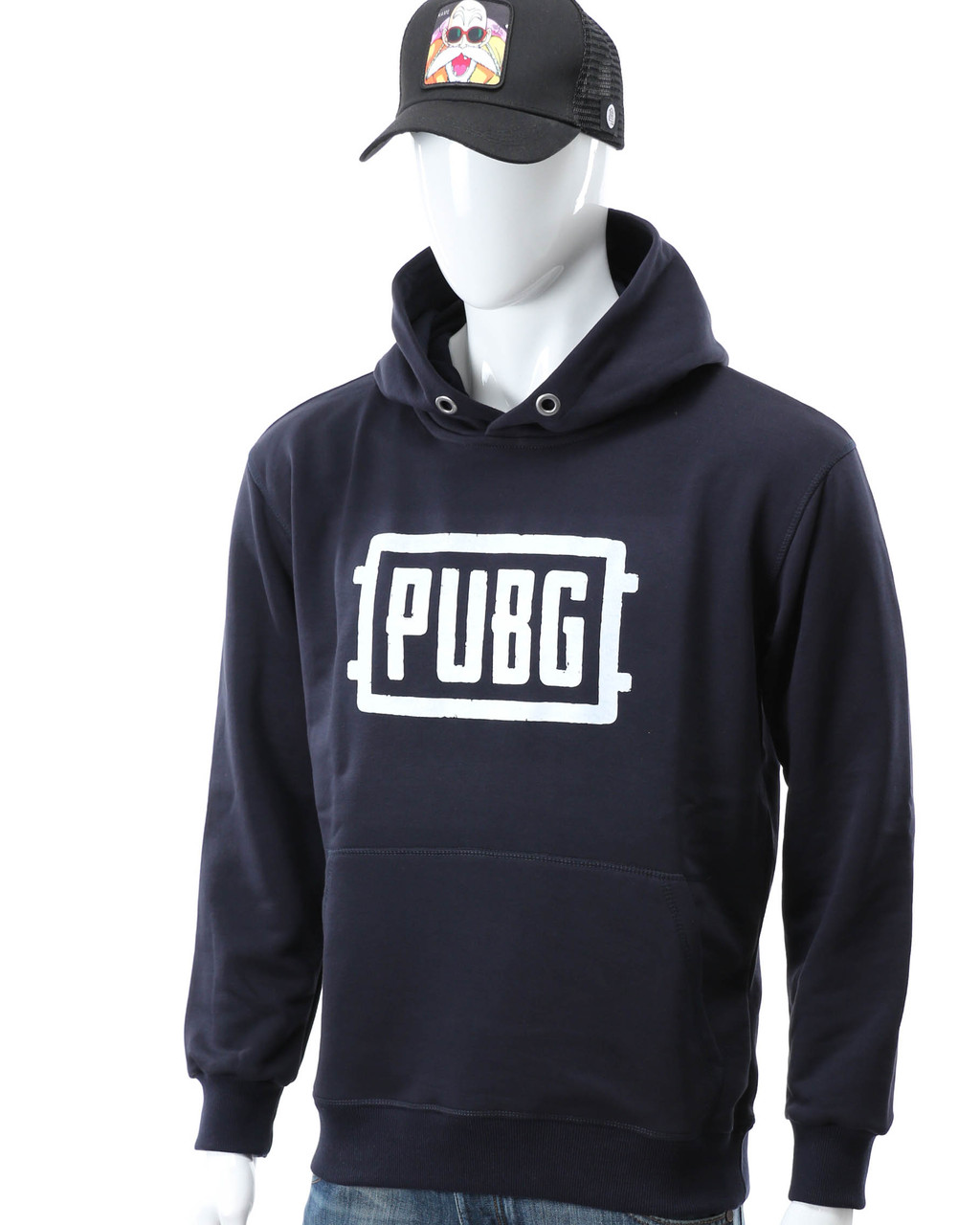 "Худи т синий HOPE с принтом ""PUBG"" Т-2 DBLU M(Р) 20-581-201"