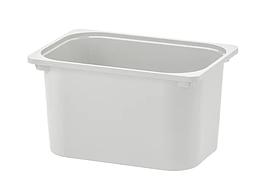 Контейнер IKEA TROFAST 42x30x23 см серый 004.640.28