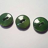Пуговица рубашечная перламутровая зелёная, 10 мм диаметр, фото 2