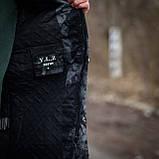 Чоловіча стильна куртка Y. L. Z весна-осінь. Колір - темно-сірий. Хмельницький, фото 2