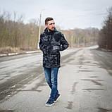 Чоловіча стильна куртка Y. L. Z весна-осінь. Колір - темно-сірий. Хмельницький, фото 5