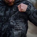 Чоловіча стильна куртка Y. L. Z весна-осінь. Колір - темно-сірий. Хмельницький, фото 6