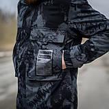 Чоловіча стильна куртка Y. L. Z весна-осінь. Колір - темно-сірий. Хмельницький, фото 7