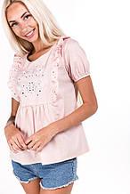 Блуза 67060 (св.персиковый)