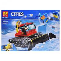 """Конструктор """"CITIES"""" """"Снігоприбиральна машина"""" 209дет 11222 р.29*20*6см."""