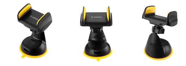 Автомобильный держатель Remax Car Holder RM-C06 (Black-Yellow)