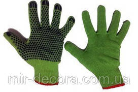 Перчатки Х\Б., зел, черн.