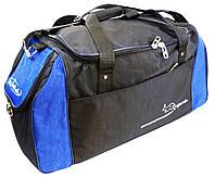 Спортивная сумка 59 л Wallaby 447-3 черный с синим