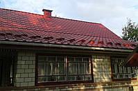 Металлочерепица  Afina Афина 0,45мм матовый полиэстер, Украина. Гарантия 10 лет, фото 10