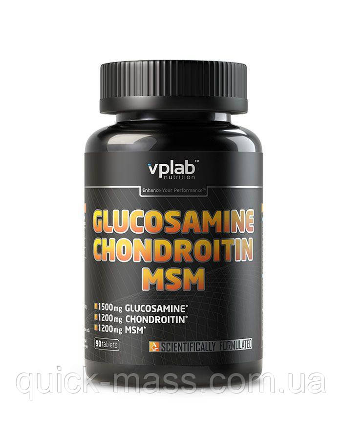 Хондропротектор VPLab Glucosamine Chondroitin MSM 90 Tablets