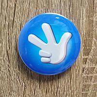 Значок сувенирный Фиксики синий, фото 1