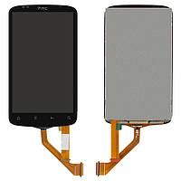 Дисплейный модуль (дисплей + сенсор) для HTC Desire S S510e G12 (узкий шлейф), оригинал