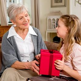 Бабушке подарок GS