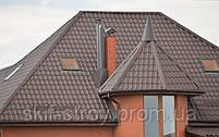 Металлочерепица Афина 0,55мм покрытие GrandeMat  ArcelorMittal Германия, ZN275. Гарантия 30 лет!, фото 4