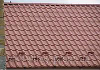 Металлочерепица Афина 0,55мм покрытие GrandeMat  ArcelorMittal Германия, ZN275. Гарантия 30 лет!, фото 8