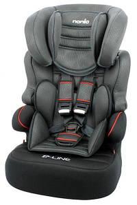 Автокресло Nania Beline Sp Luxe Grey (9-36 кг) Black