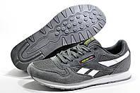 Мужские повседневные кроссовки в стиле Reebok Classic Leather, Серый/Белый