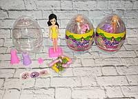 Яйцо киндер-сюрприз lego с куклой барби